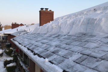 Winter Roof Clearing Service for Ice and Snow
